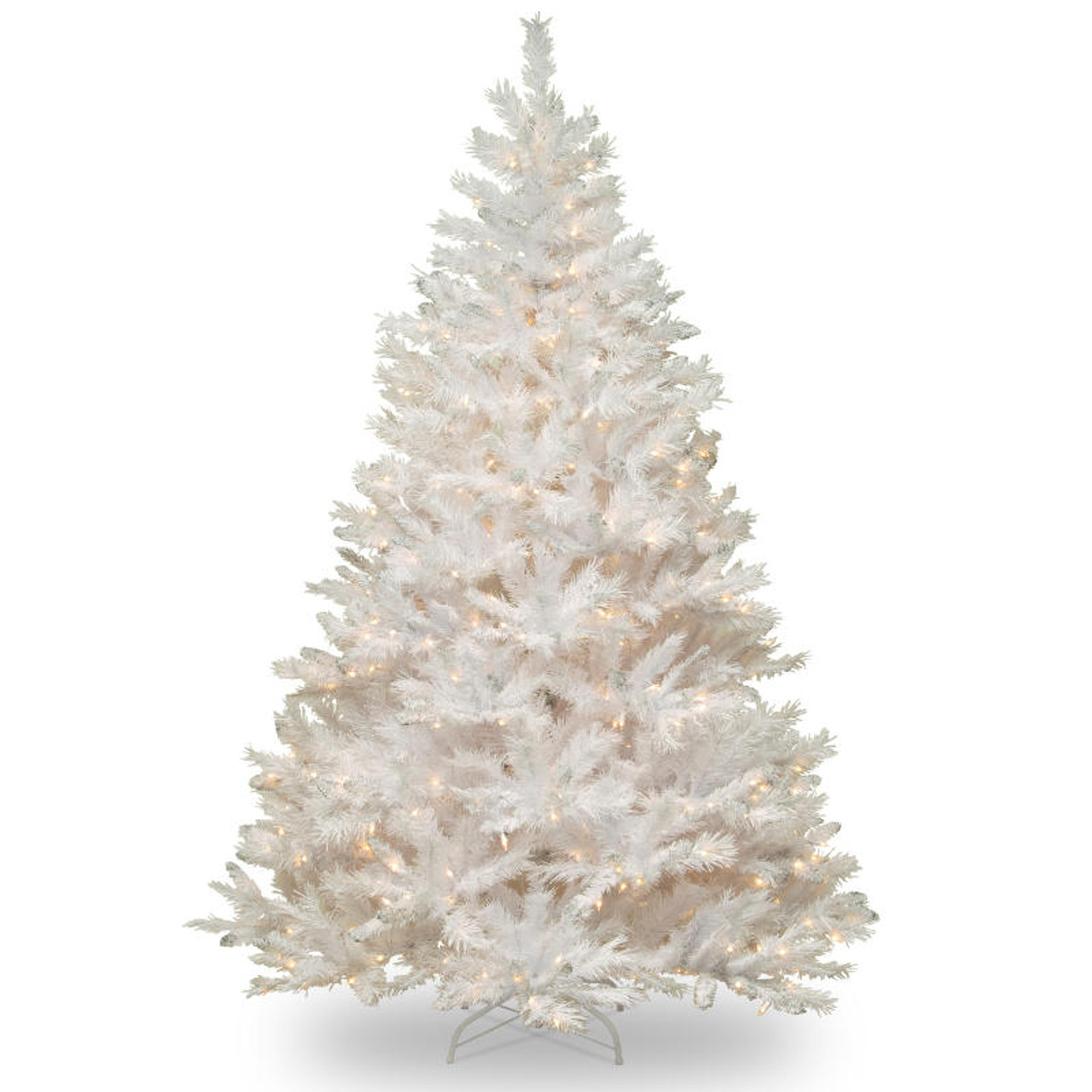 Pre Lit Christmas Tree Fuses: 7' Pre-Lit Full Winchester White Pine Artificial Christmas