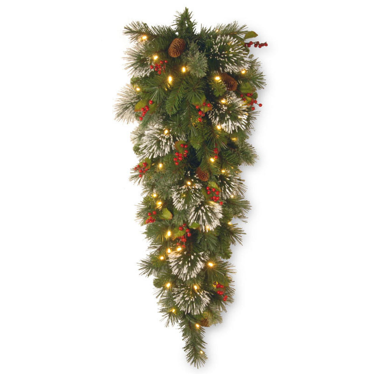 Pre Lit Battery Operated Christmas Trees