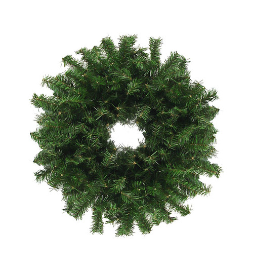 "30"" Traditional Green Canadian Pine Artificial Christmas Wreath - Unlit - 10626079"