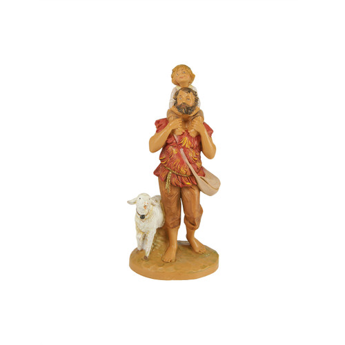 "Fontanini 5"" Jeshua & Adin with Lamb Christmas Nativity Figurine #72693 - 28464355"