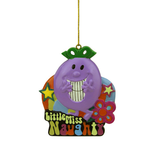 Tween Christmas Little Miss Naughty Book Character Ornament - 16179747
