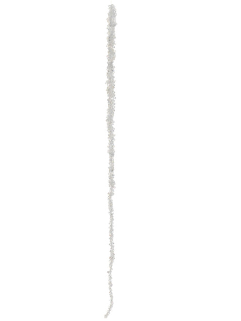 """30"""" Elegant Beaded Clear Icicle Christmas Ornament - 16179518"""