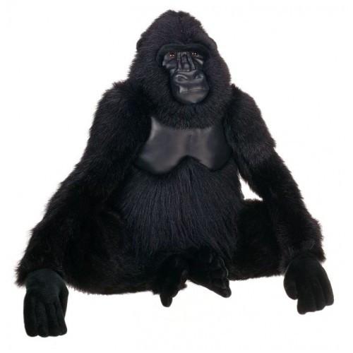"28.5"" Life-size Handcrafted Extra Soft Plush Gorilla Stuffed Animal - 31068647"