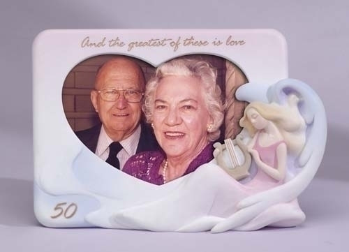 Club Pack of 24 50th Golden Wedding Anniversary Photo Picture Frames #11436 - 6360105