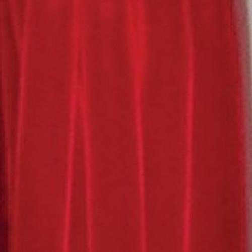 """Velvet Red Soft Velvet With Woven Edge Decorating Ribbon 3/8"""" x 66 Yards - 31390985"""