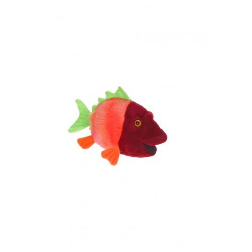 "Set of 4 Lifelike Handcrafted Extra Soft Plush Colorful Fish Stuffed Animals 6"" - 31068575"