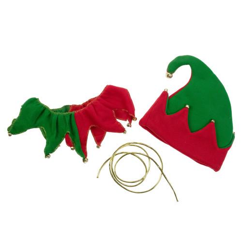 Unisex Adult 5-Piece Christmas Elegant Elf Costume Set - Adult Men's/Women's Plus Size - 5699962