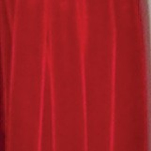 """Red Soft Velvet With Woven Edge Decorating Ribbon 3/4"""" x 44 Yards - 31391013"""
