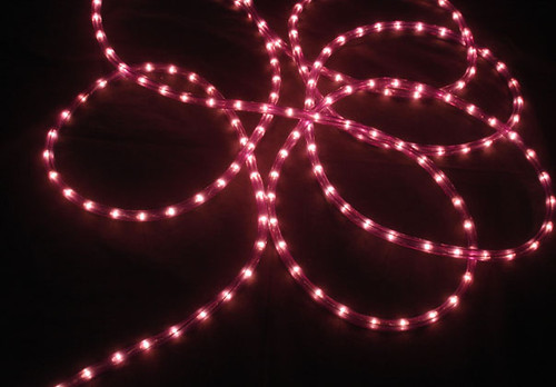 100' Purple Commercial Length Christmas Rope Light On a Spool - 6452191