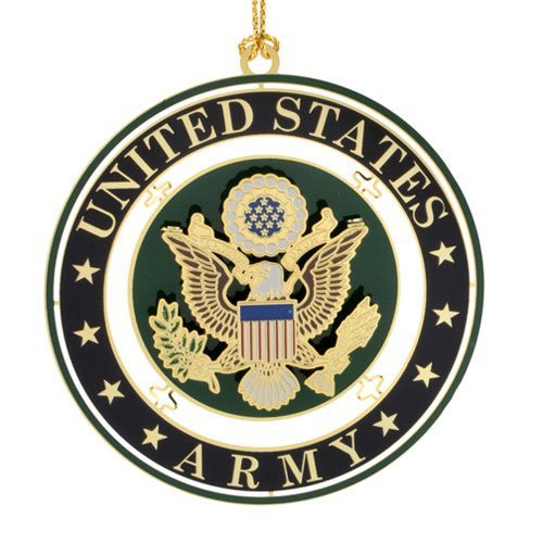 "ChemArt 2.5"" Collectible Keepsakes United States Army Seal Christmas Ornament - 31422206"