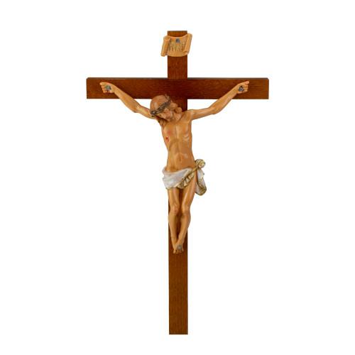"Fontanini 15"" Religious Wooden Crucifix Wall Cross #0251 - 5983542"