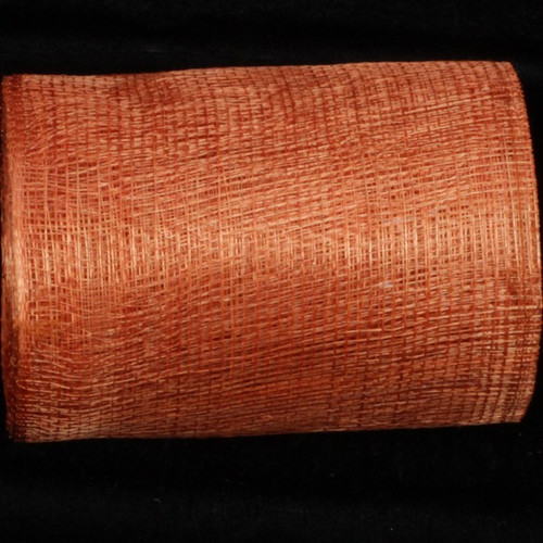 "Peach Colored Sinamay Abacá Fiber Craft Ribbon 5"" x 32 Yards - 31391131"
