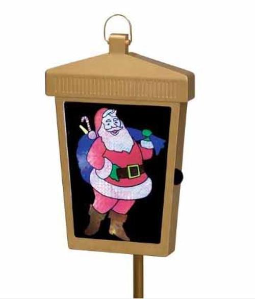 Mr. Christmas Lighted Holographic Welcome Home Seasonal Lantern Decor #67681 - 30873407