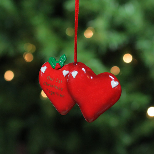 Our 1st Christmas Together Christmas Ornament To Personalize #21000 - 5243225