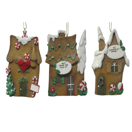 """Pack Of 12 Better Homes & Gardens """"Our First"""" Christmas Ornaments #25402 - 6396630"""