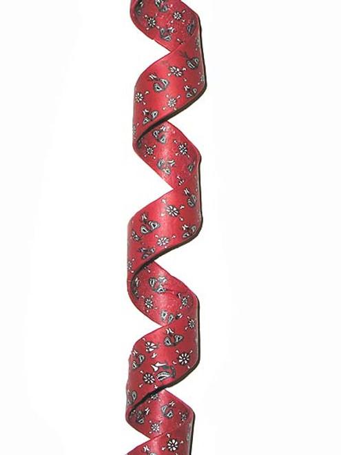 "5"" Twisted Red Bandana Paisley Christmas Ornament - 5174110"