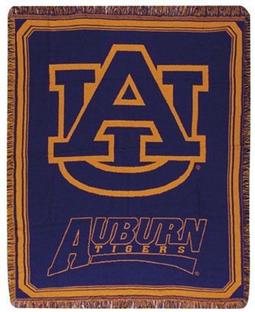 "Auburn University Tigers Afghan Throw Blanket 48"" x 60"" - 7379599"