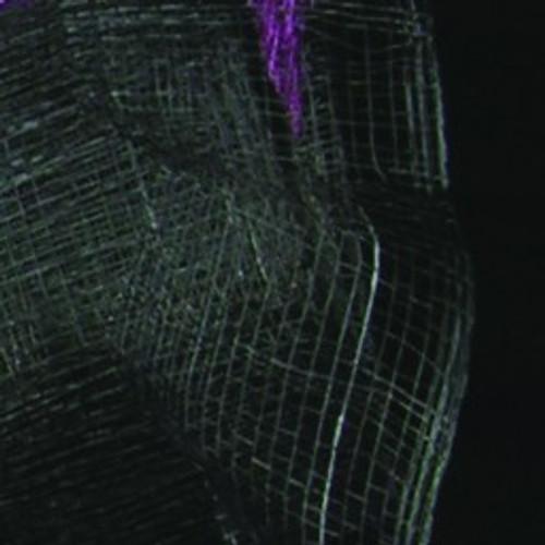 "Black Sinamay Abacá Fiber Ribbon 2"" x 64 Yards - 31391080"
