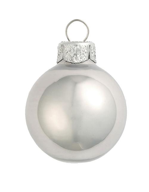 "2ct Pearl Mercury Glass Ball Christmas Ornaments 6"" (150mm) - 30940128"