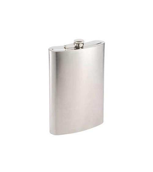 Huge Over-Sized Stainless Steel Drinking Flask - 64 oz. - 31364835