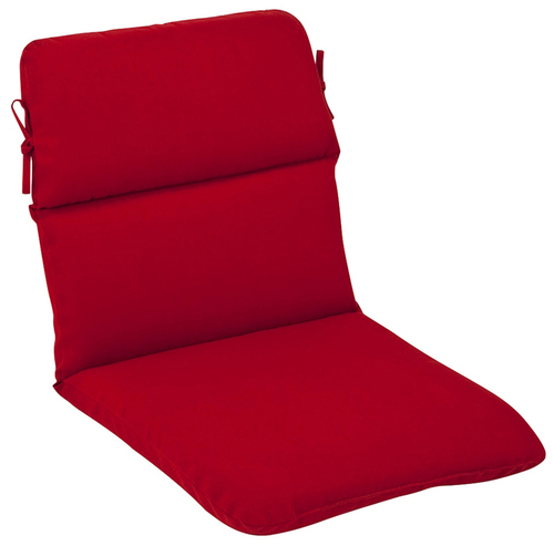 Outdoor Patio Furniture High Back Chair Cushion - Venetian Red - 13349355