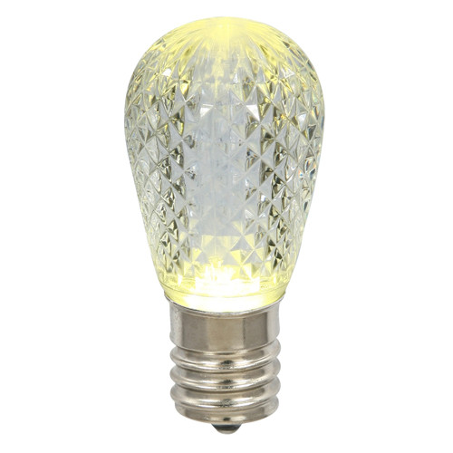 Club Pack of 25 LED Warm Clear Replacement Christmas Light Bulbs - E26 Base - 30861569
