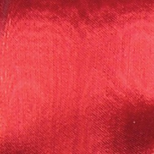 Sheer Metallic Red Craft Ribbon 3.2mm x 200 Yards - 31388201