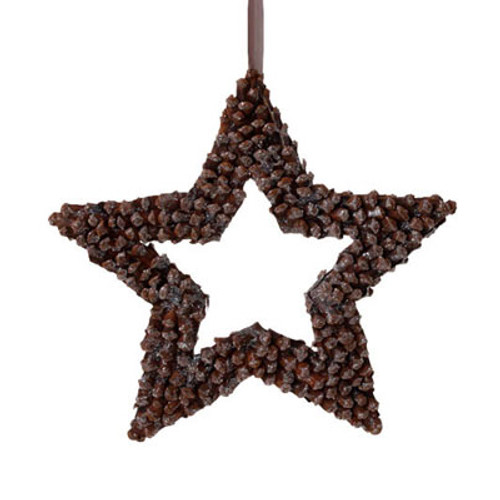 "13"" In The Birches Brown Pine Cone Star Christmas Ornament - 16182798"