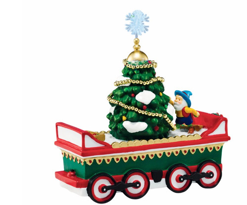 """Department 56 North Pole Series """"Northern Lights Tree Car"""" Accessory #4044840 - 31739148"""