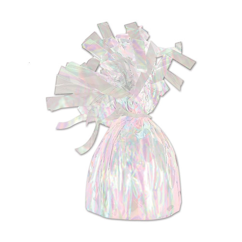 Club Pack of 12 Metallic Opalescent  Party Balloon Weight Decorative Birthday Centerpieces 6 oz. - 31564134