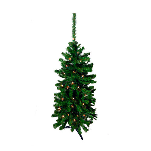 4.5' Pre-Lit Artificial Christmas Tree - Clear Lights - 11171611