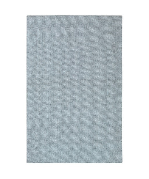2.25' x 4.4' Beautiful Dreamer Pewter Blue Hand Woven Reversible Area Throw Rug - 32209398