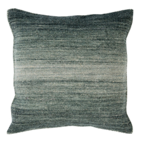 """20"""" Ombre Ambiance Black-Gray, Softened Green and Silver Sand Decorative Throw Pillow - 31504005"""