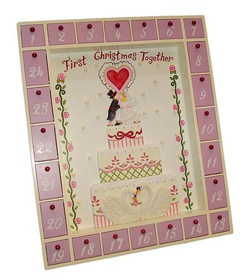 First Christmas Together Wedding Advent Calendar #J4179 - 5990188