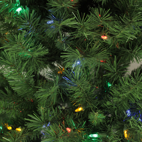 Pre Lit Christmas Trees Multi Color Led Lights