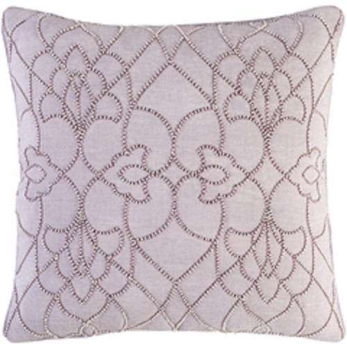"20"" Lavender Blush and Ivory Modish Western Woven Decorative Throw Pillow - 32215693"