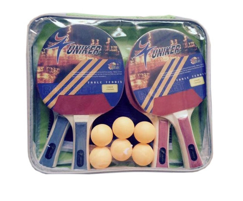 Recreational Table Tennis Net, Paddles and Balls Game Set - 32283737