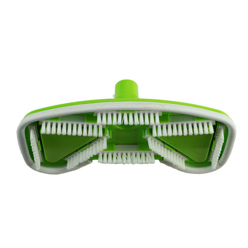 "11"" Lime Green Deluxe Contour Weighted Swimming Pool Butterfly Vacuum Head - 32558485"