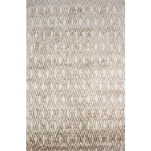 12' x 15' Gated Entrance Khaki Brown and Light Beige Area Throw Rug - 31495787