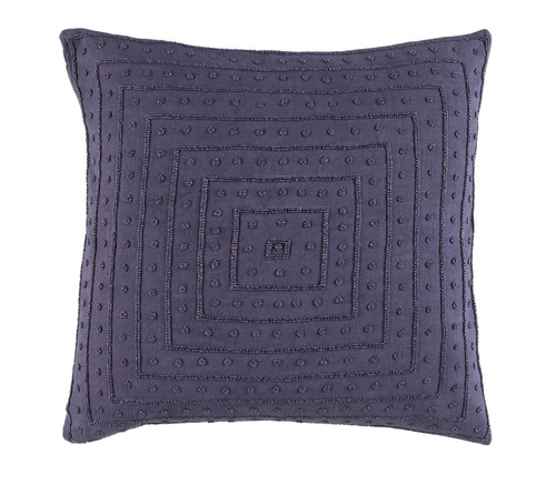 "22"" x 22"" Wine Purple Woven Decorative Throw Pillow - 32216044"
