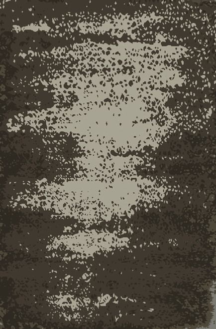 9' x 13' Transient Tide Hunter and Cool Gray Hand Knotted Area Throw Rug - 30942657