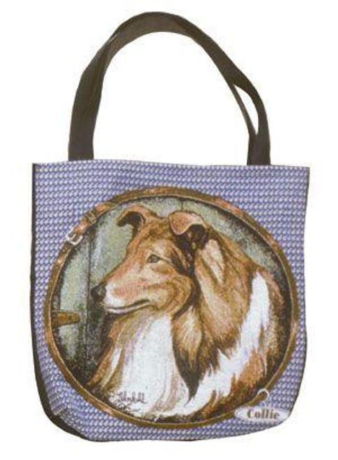 """Collie Dog Decorative Shopping Tote Bag 17"""" x 17"""" - 7379684"""