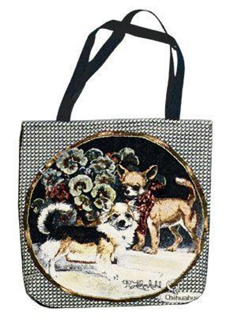 """Chihuahua Dogs Decorative Shopping Tote Bag 17"""" x 17"""" - 7379682"""