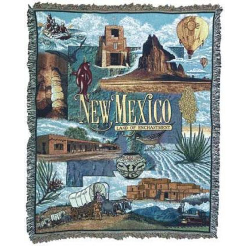 """New Mexico """"Land of Enchantment"""" Tapestry Throw Blanket 50"""" x 60"""" - 7379915"""