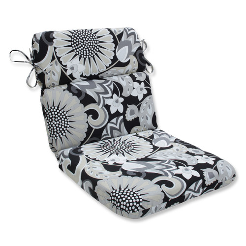 """40.5"""" Imperial Chic Floral Outdoor Patio Rounded Chair Cushion - 32596072"""