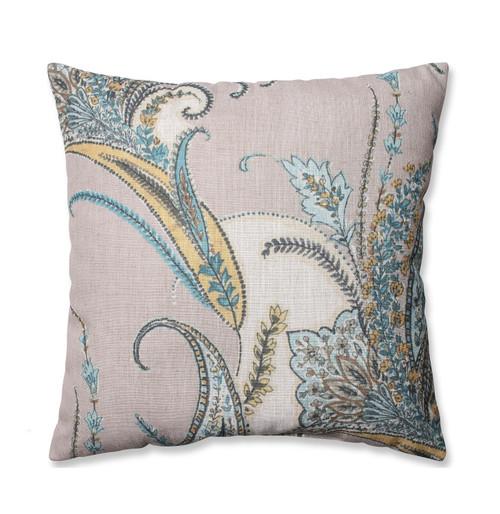 "18"" Naturally Serene Paisley Decorative Throw Pillow - 32588265"