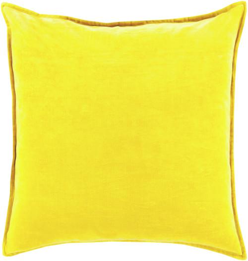 "18"" Chastity's Blush of Pureness Lemon Glacier Yellow Decorative Throw Pillow - 31395278"
