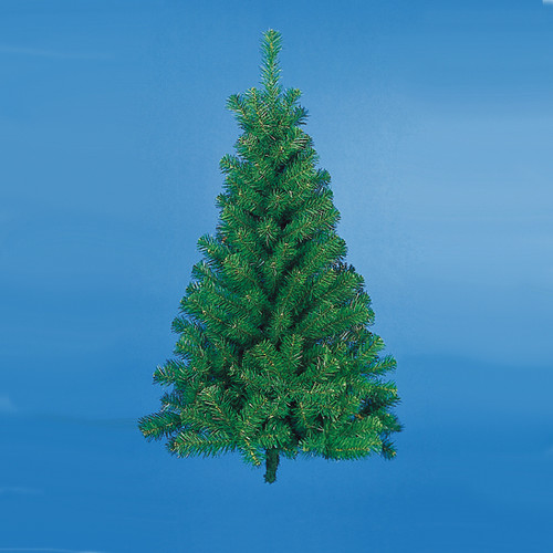 3 norway pine artificial half wall christmas tree unlit 10838095 - Half Wall Christmas Tree