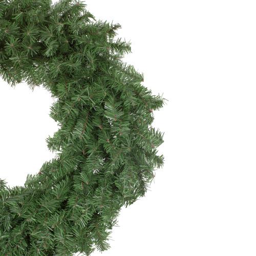 "30"" Canadian Pine Artificial Christmas Wreath - Unlit - 32607290"