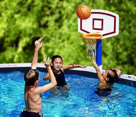 Water Sports Jammin 39 Basketball Poolside Above Ground Swimming Pool Game Christmascentral